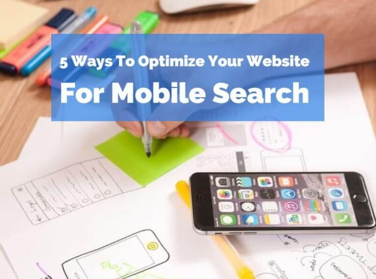 How To Optimize Your Website For Mobile Search