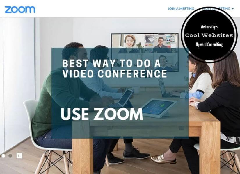 Best Way To Do A Video Conference – Zoom review