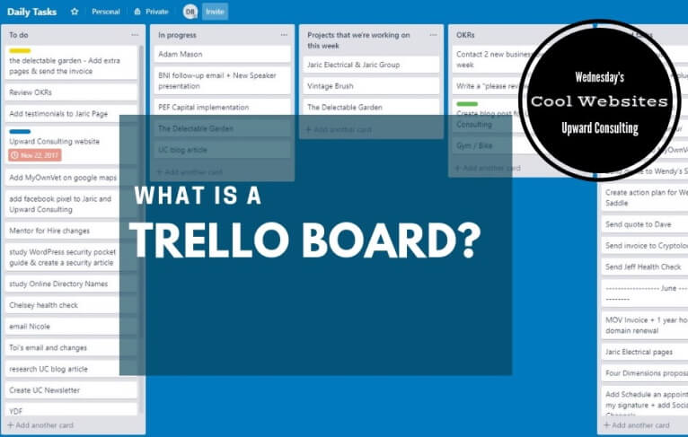 What is a Trello board?